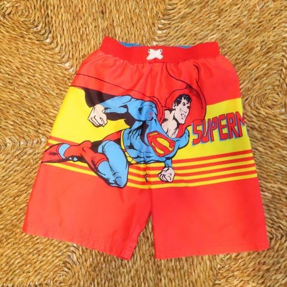 2d205b666e Swim | Superman Trunks Size 5t | Poshmark